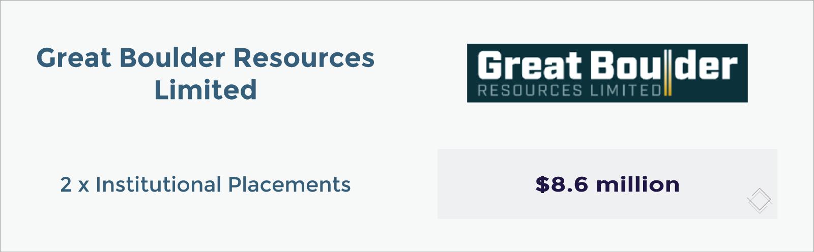 Great Boulder Resources